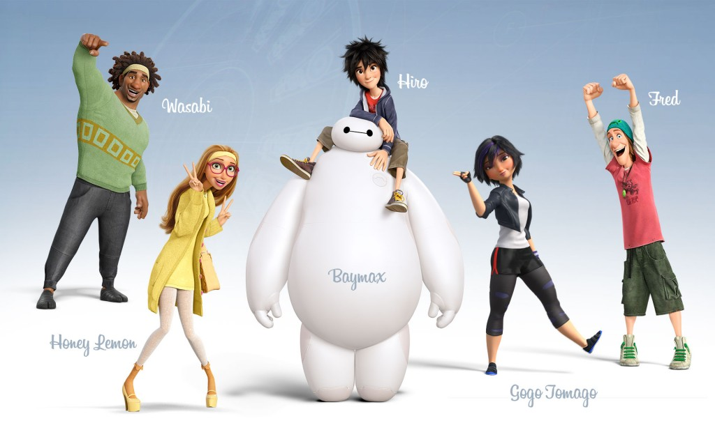 Big Hero 6 HD wallpapers 2015 new