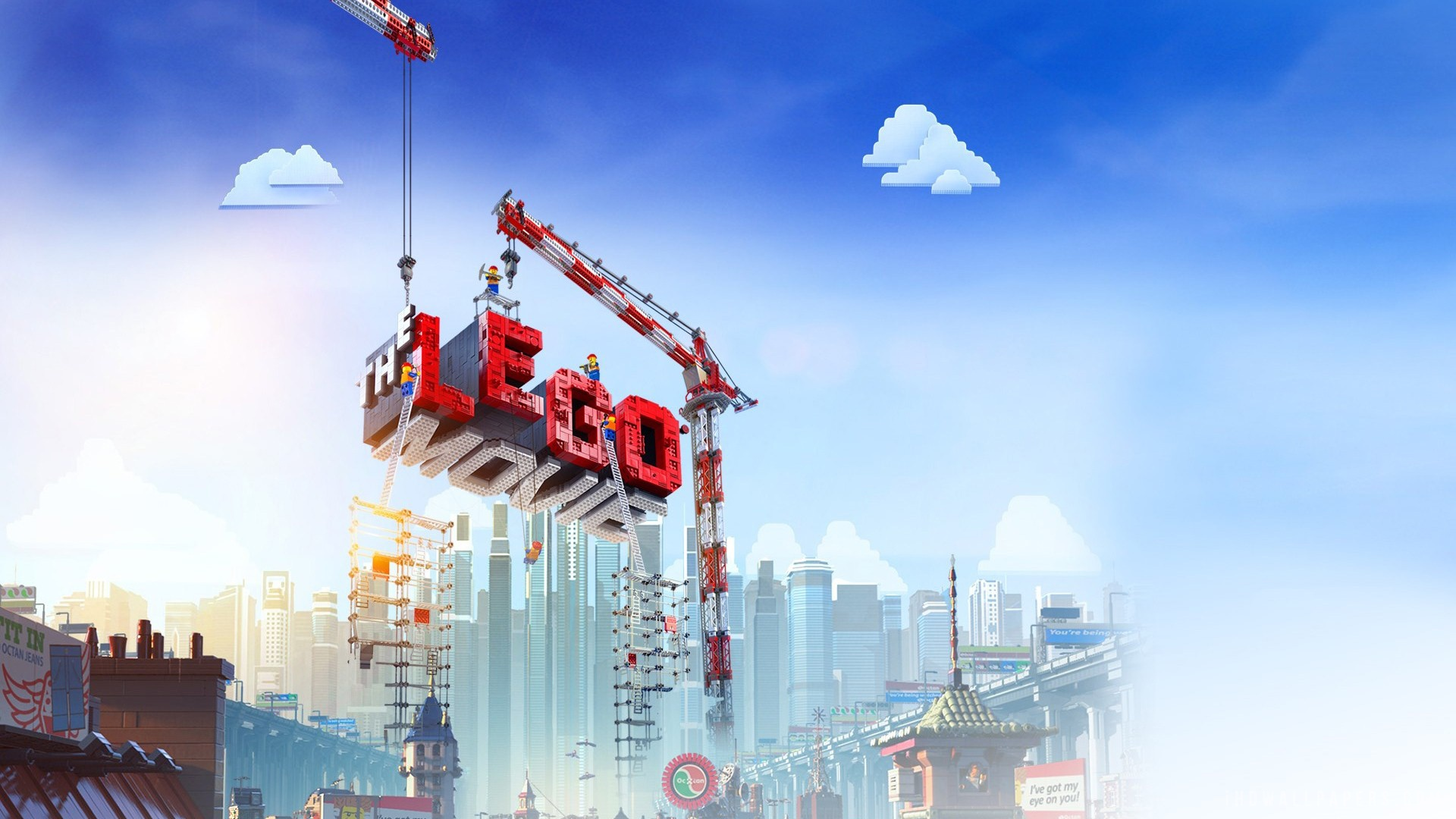lego movie city background -#main
