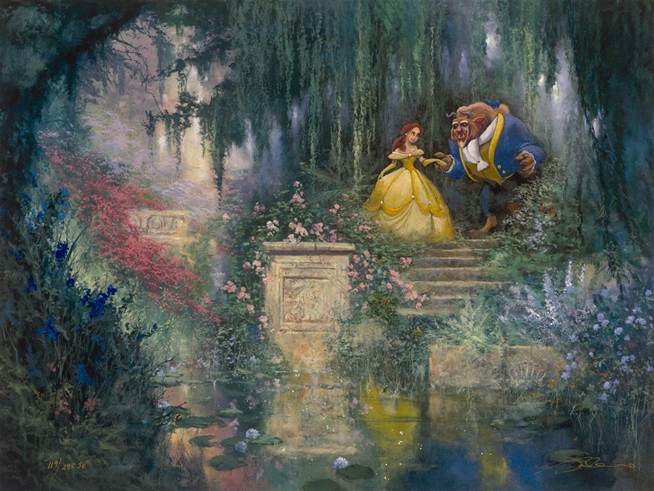 Art Disney: Beauty And The Beast High Quality HD Wallpapers