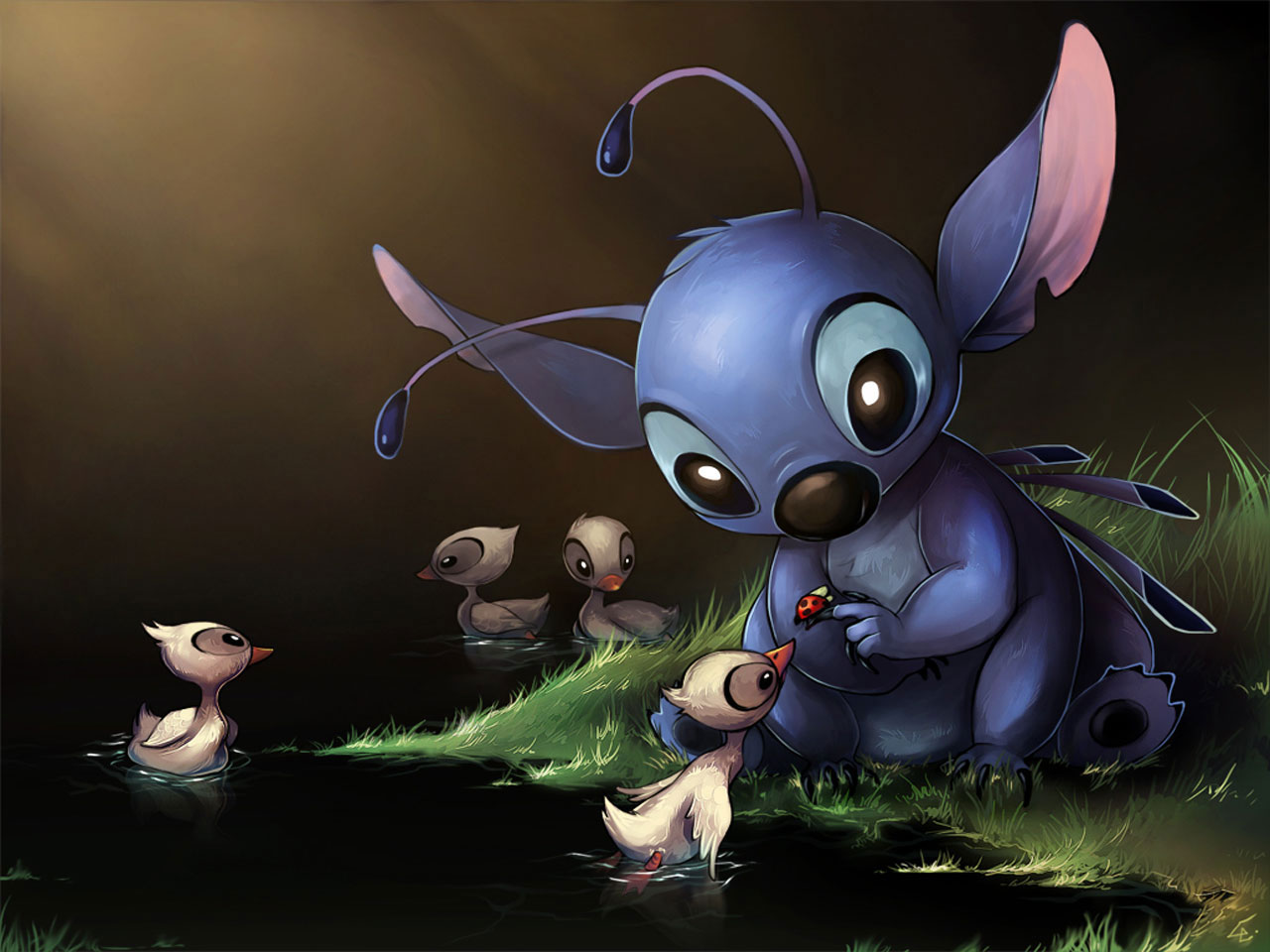 It is a photo of Current Pictures of Lilo & Stitch