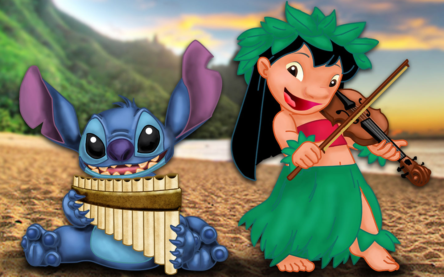 Lilo & amp Stitch Best Quality Wallpapers - All HD Wallpapers