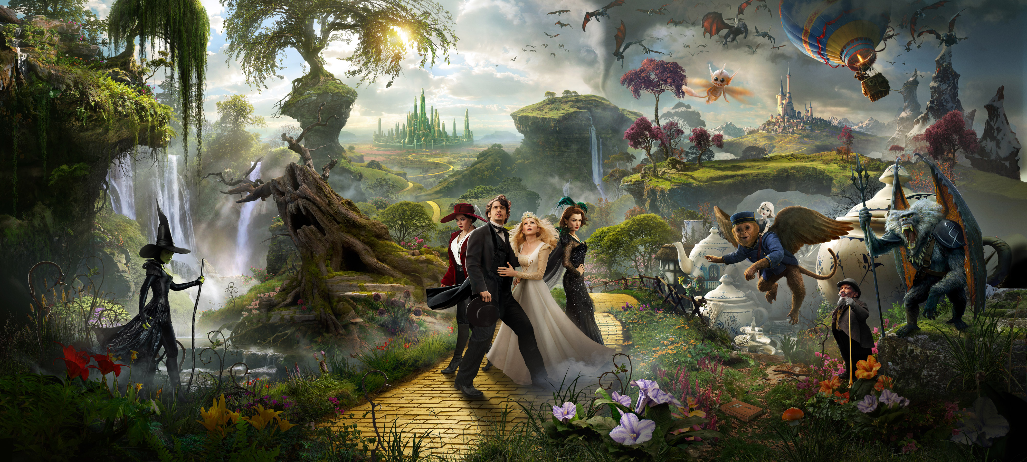 Oz the great and powerful hd wallpapers all hd wallpapers - The wizard of oz hd ...