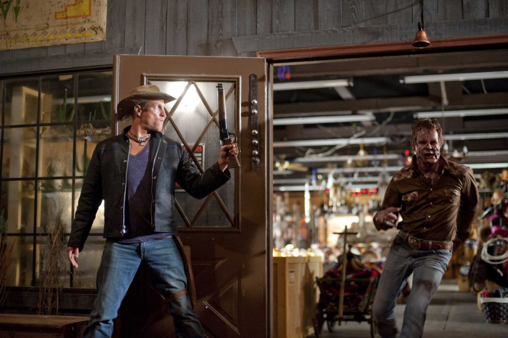 Woody Harrelson stars in Columbia Pictures' comedy ZOMBIELAND.