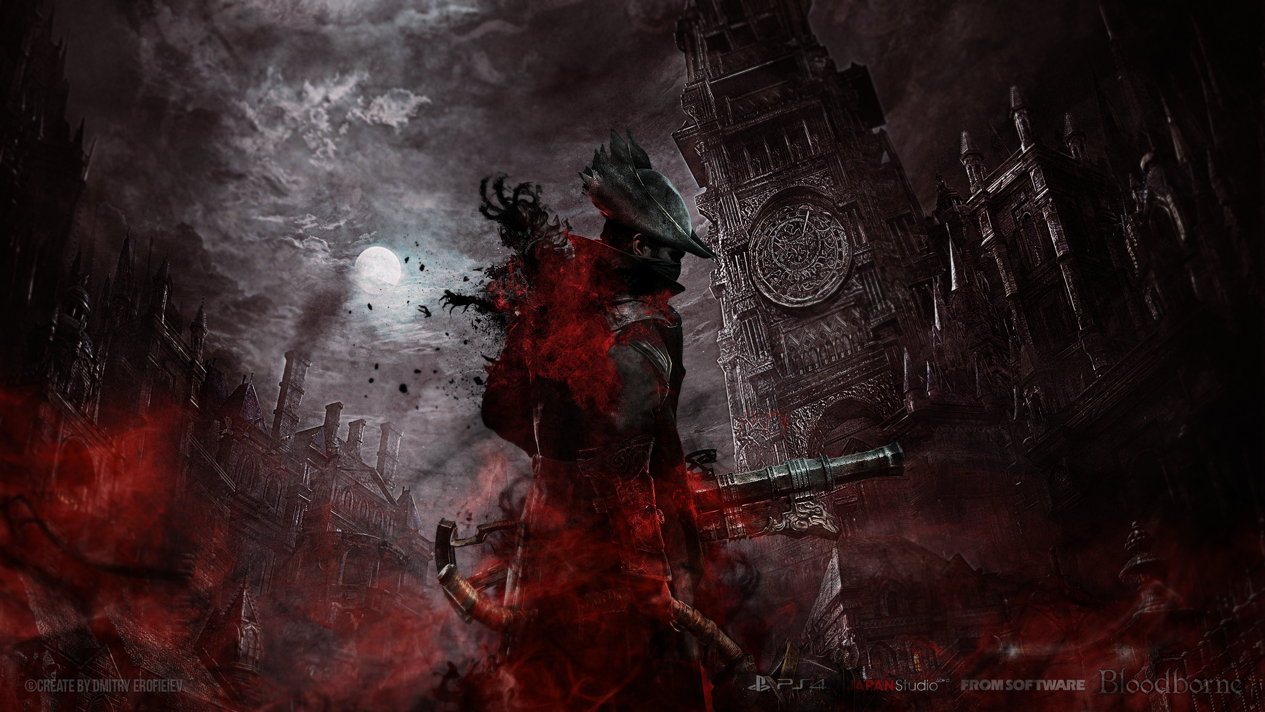 High Resolution Gaming Wallpapers: 10+ Bloodborne Game High Quality Wallpapers