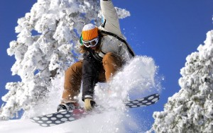 Snowboarding Beautiful HD Wallpapers(sports)
