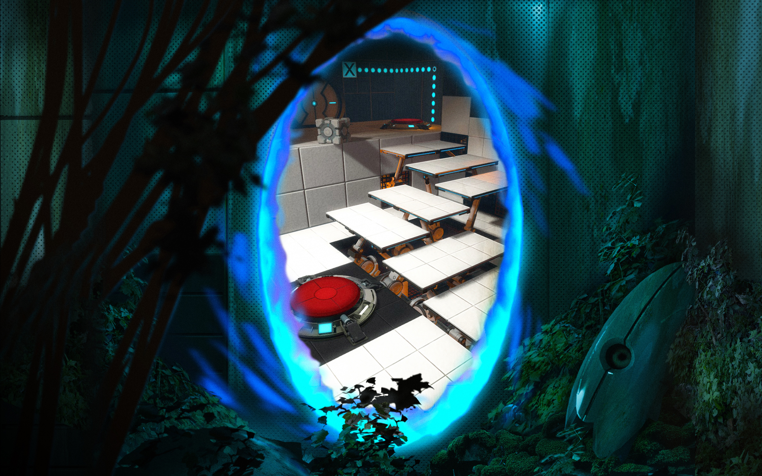 portal 2 game hd wallpapers new collections all hd wallpapers. Black Bedroom Furniture Sets. Home Design Ideas