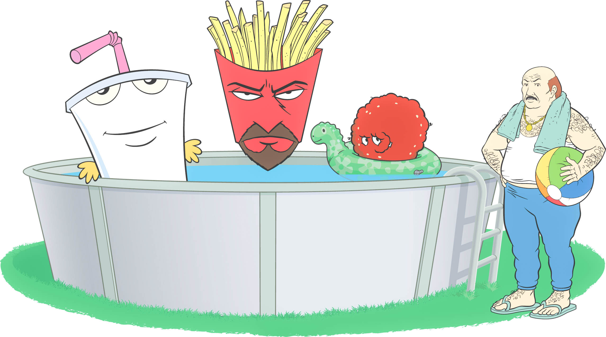 Circuit schematic aqua teen hunger force