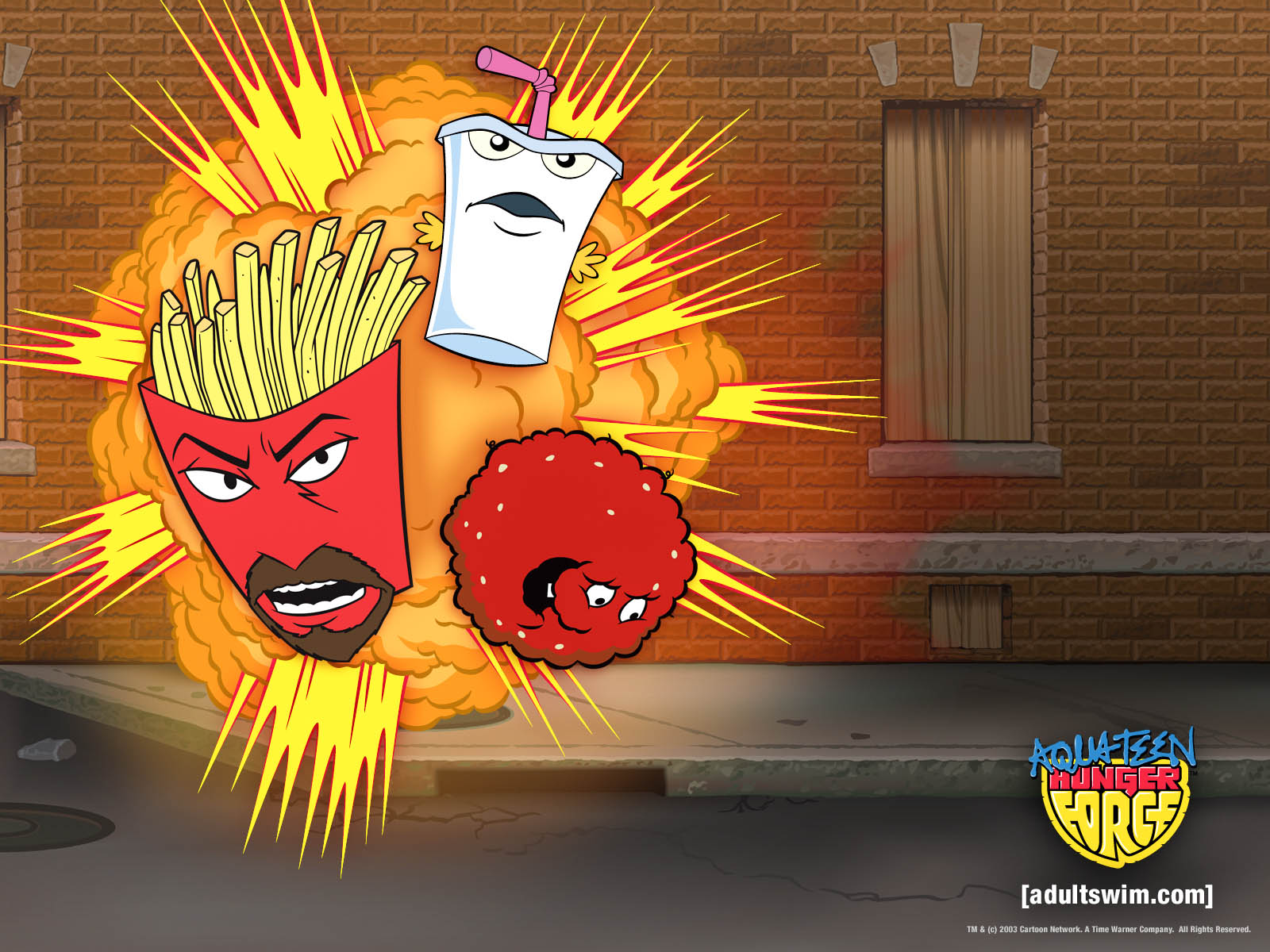 Can aqua teen unger force