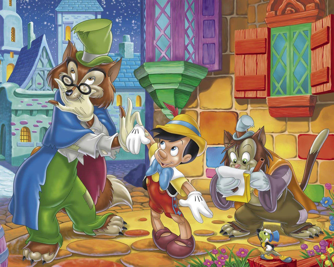 Pinocchio High Defination Wallpapers Backgrounds All Hd