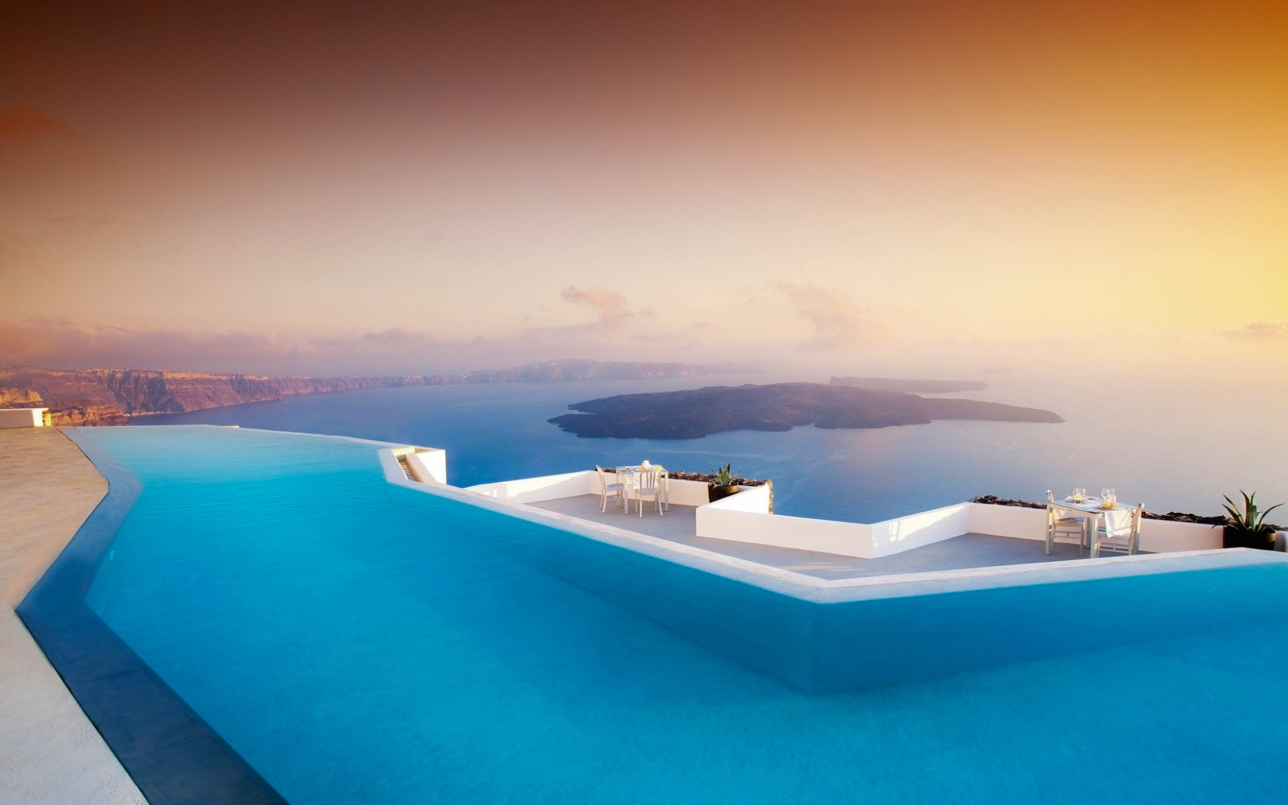 Santorini amazing hd wallpapers high resolution all hd for Amazing wallpaper for tab
