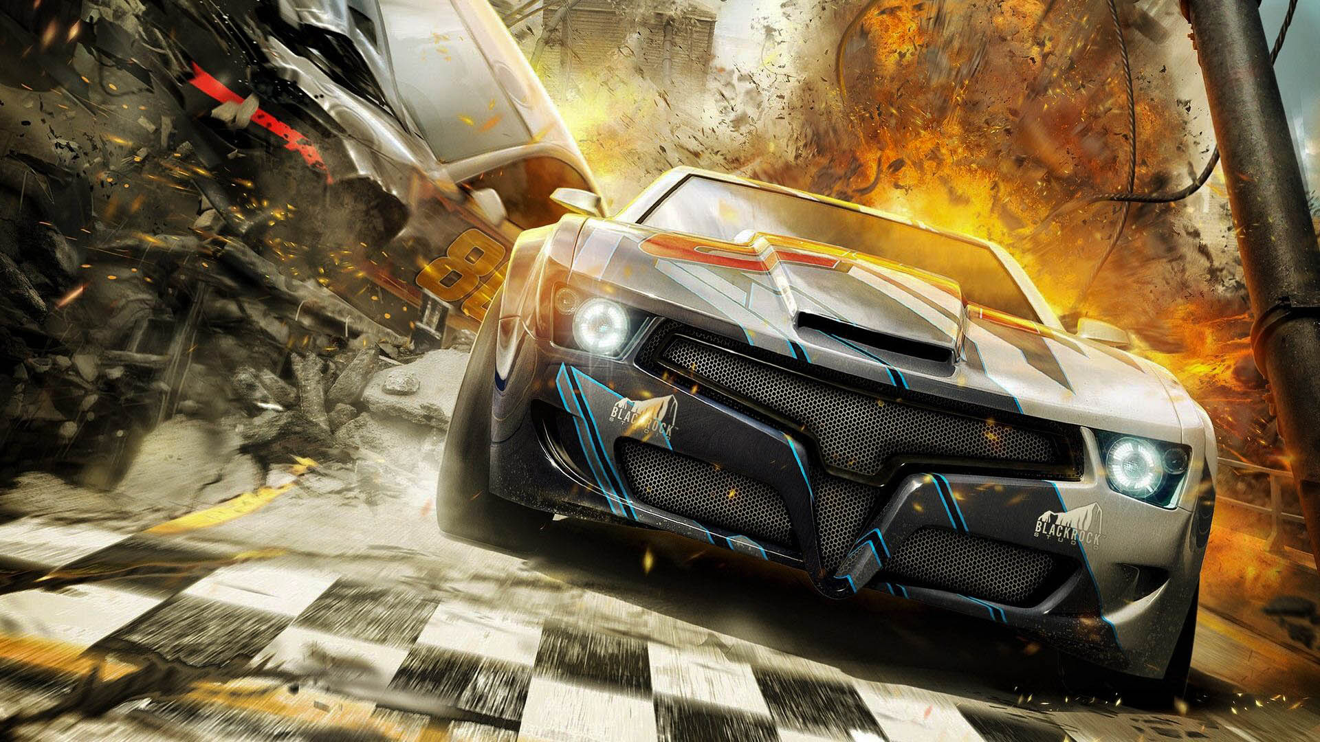 3d Games Hd Wallpaper For Mobile: Split Second Game High Quality HD Wallpapers