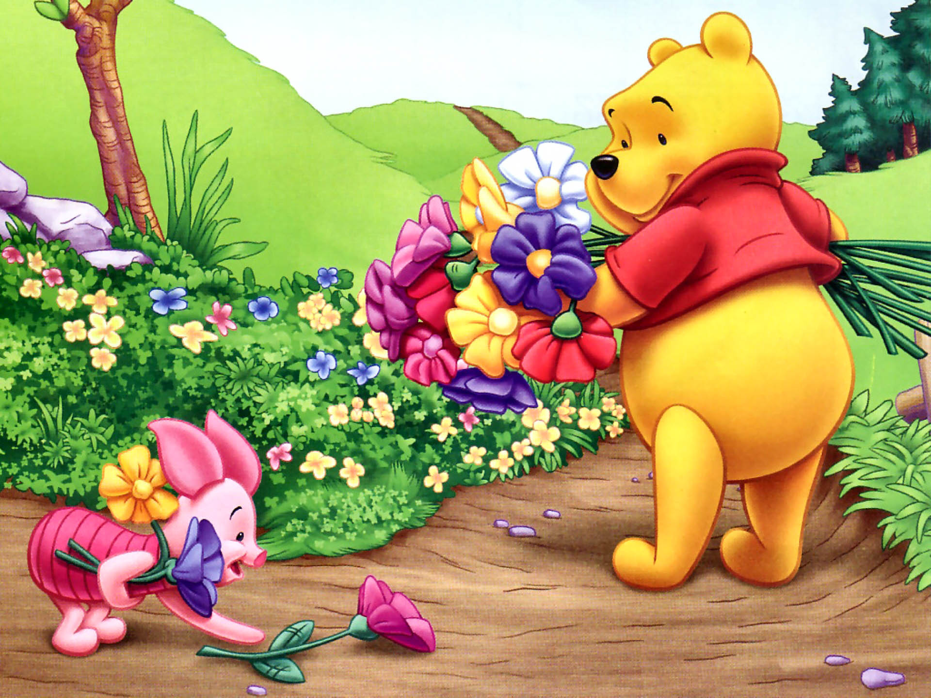 winnie the pooh beautiful hd wallpapers all hd wallpapers. Black Bedroom Furniture Sets. Home Design Ideas
