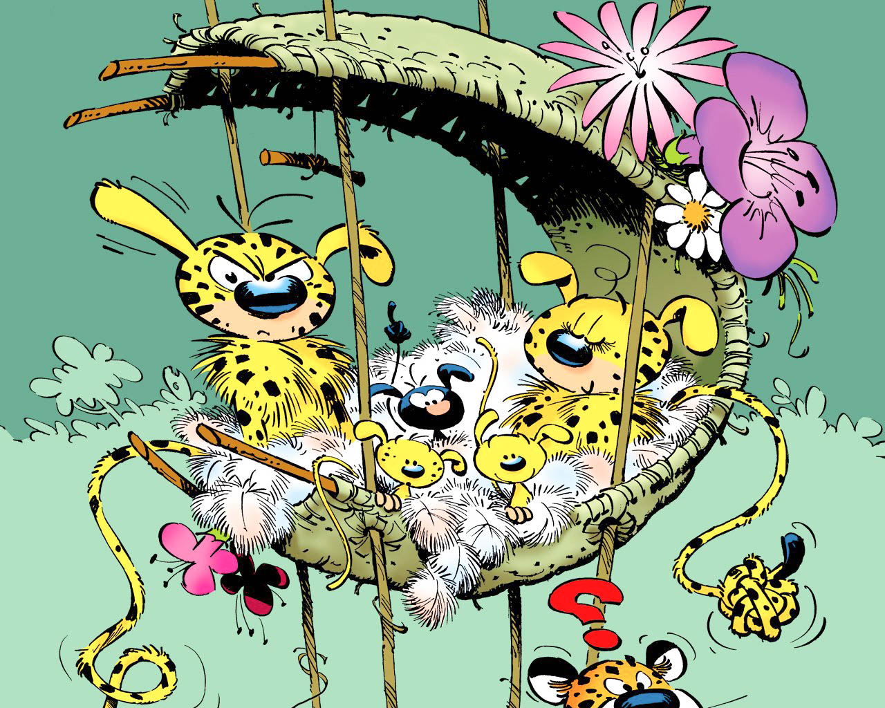 Marsupilami Cartoon New HD Wallpapers High Quality