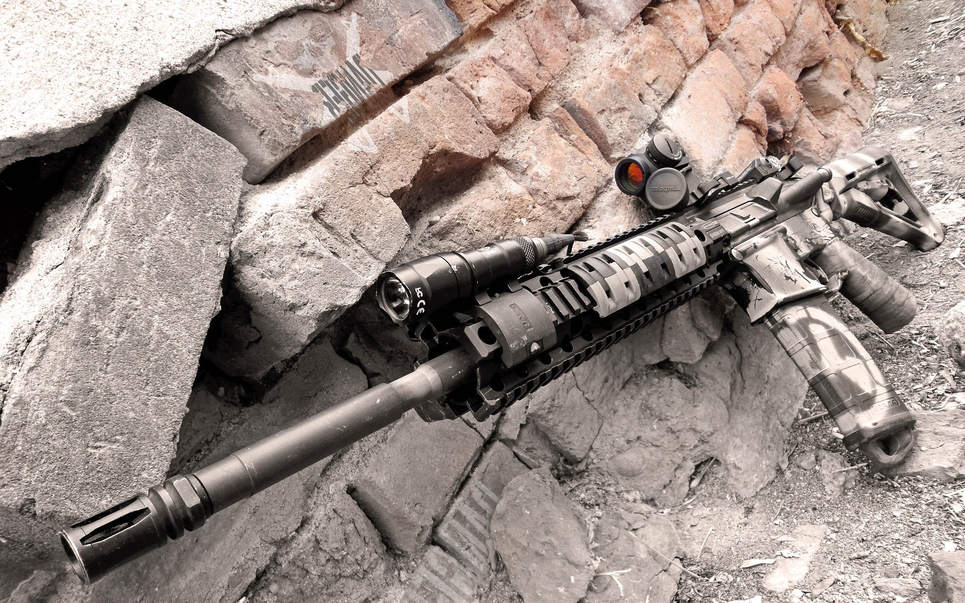 AR-15 Weapon Some Amazing HD Wallpapers, Backgrounds (High