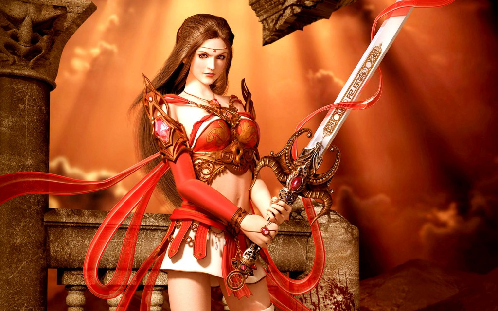 Women Warrior (1)