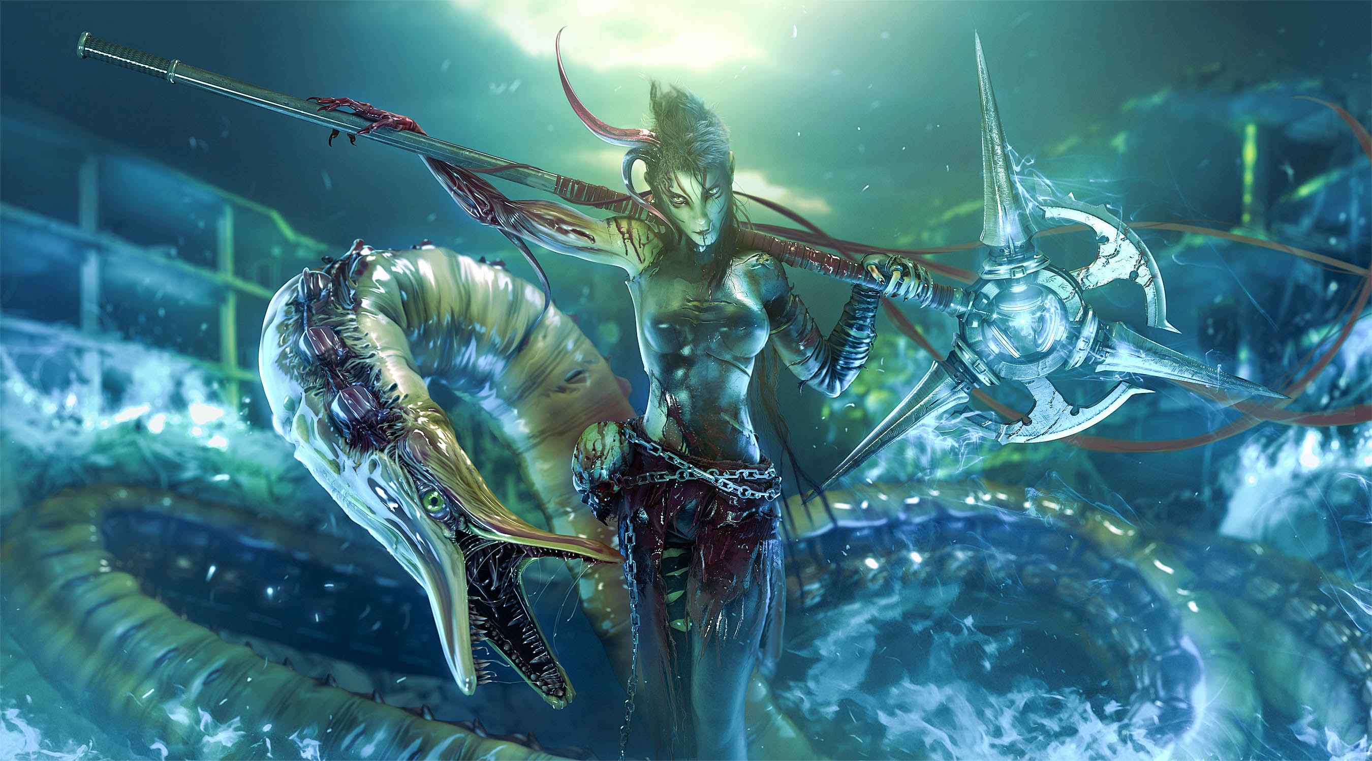 Sea Monster Fabulous New Hd Wallpapers Amp Desktop