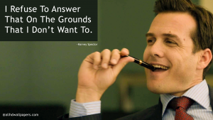 Harvey Specter Famous Quotes Pictures