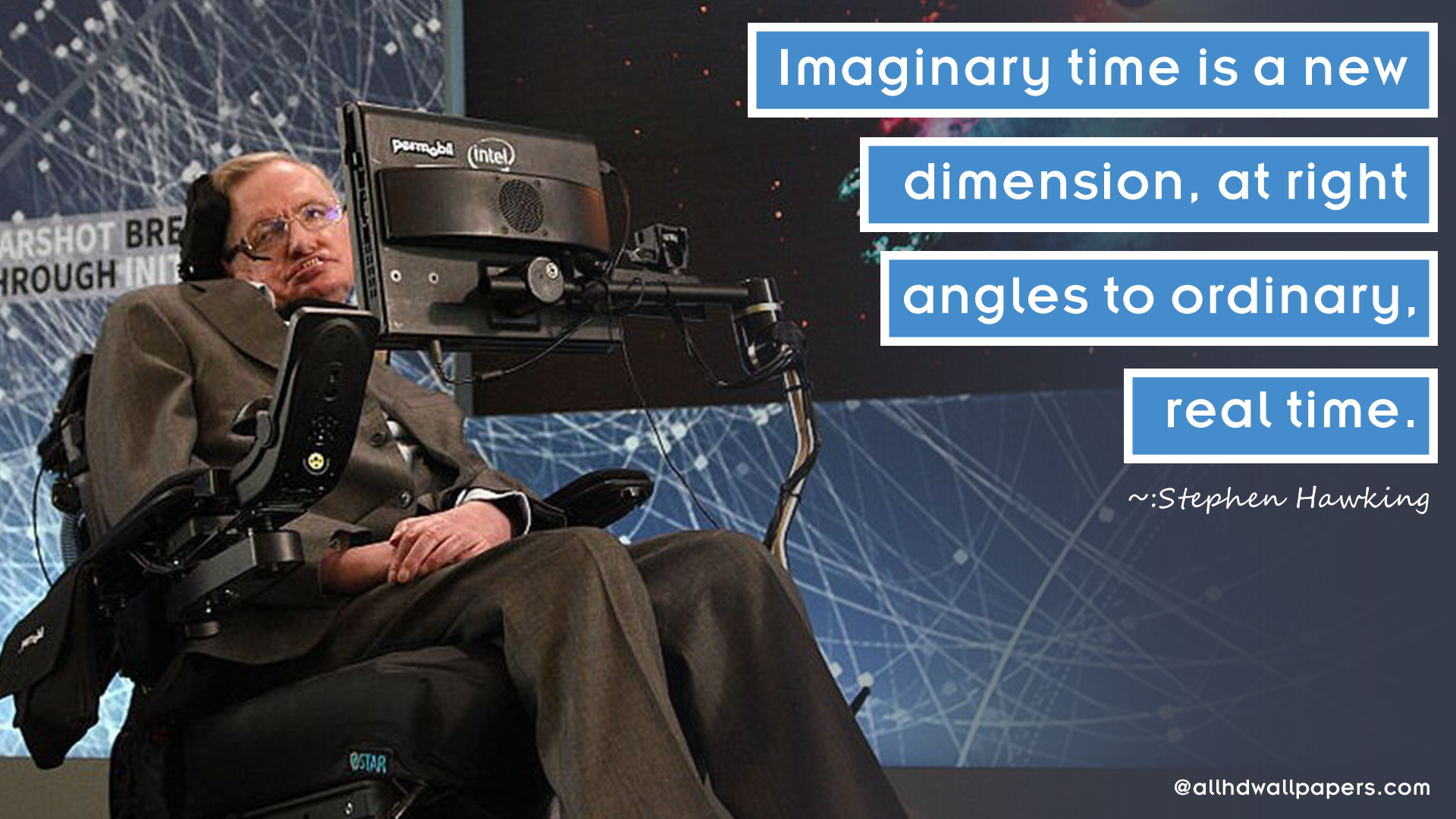 Stephen Hawking Quote Wallpaper5