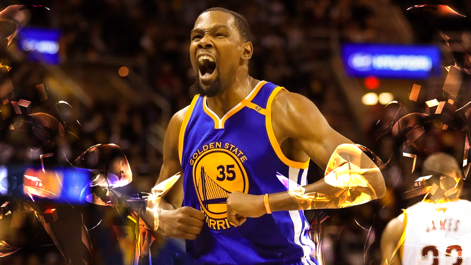 Kevin Durant Basket Ball Player Wallpaper ...