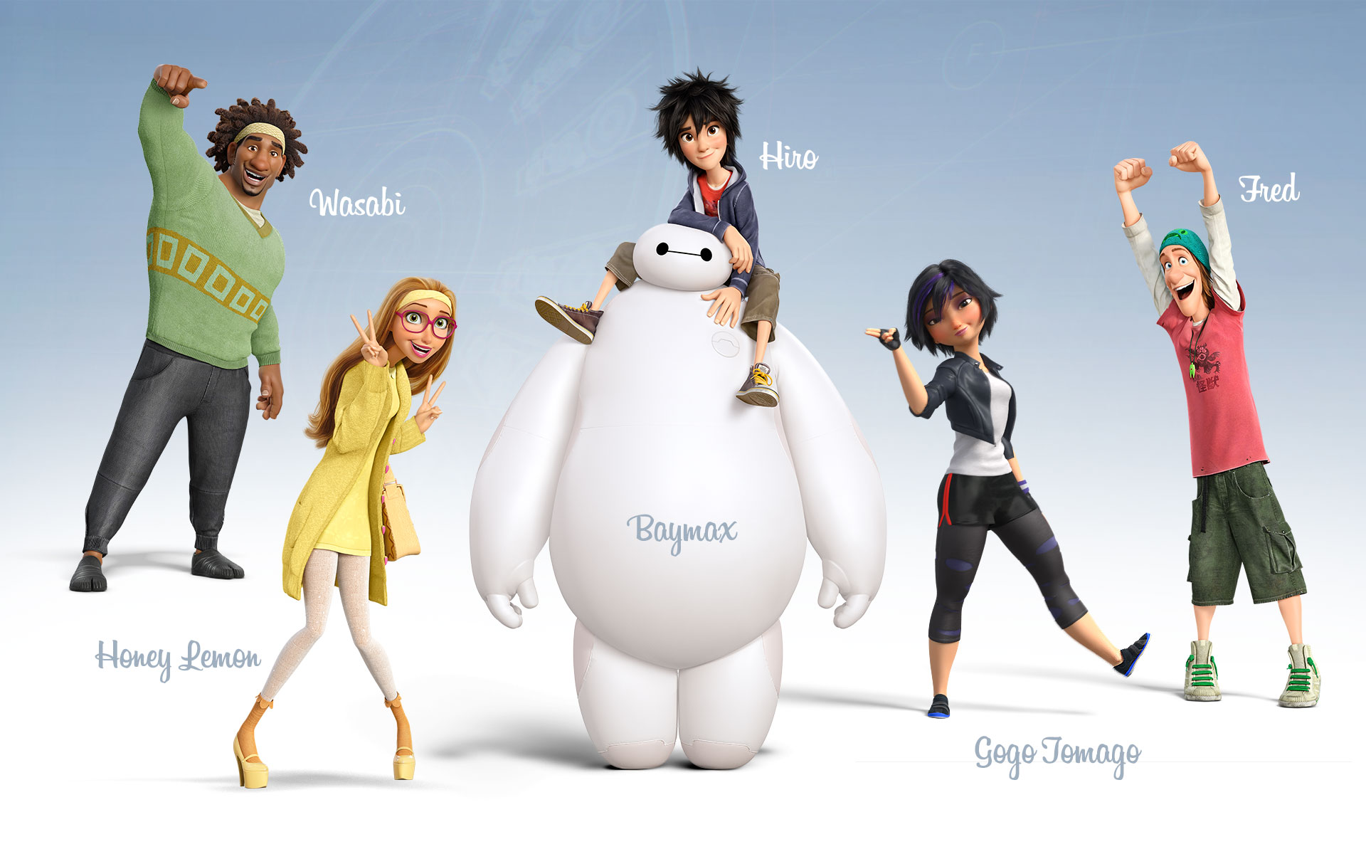 Big Hero 6 HD wallpapers