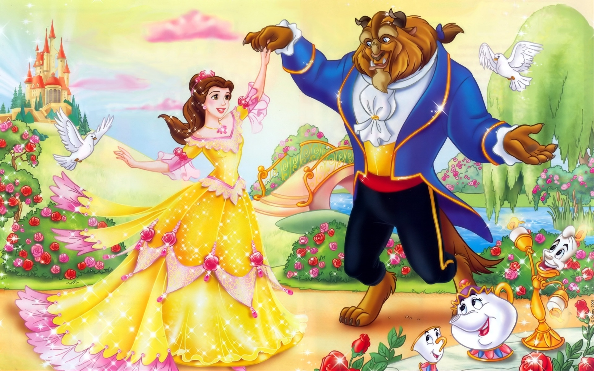 Beauty And The Beast High Quality Hd Wallpapers All Hd
