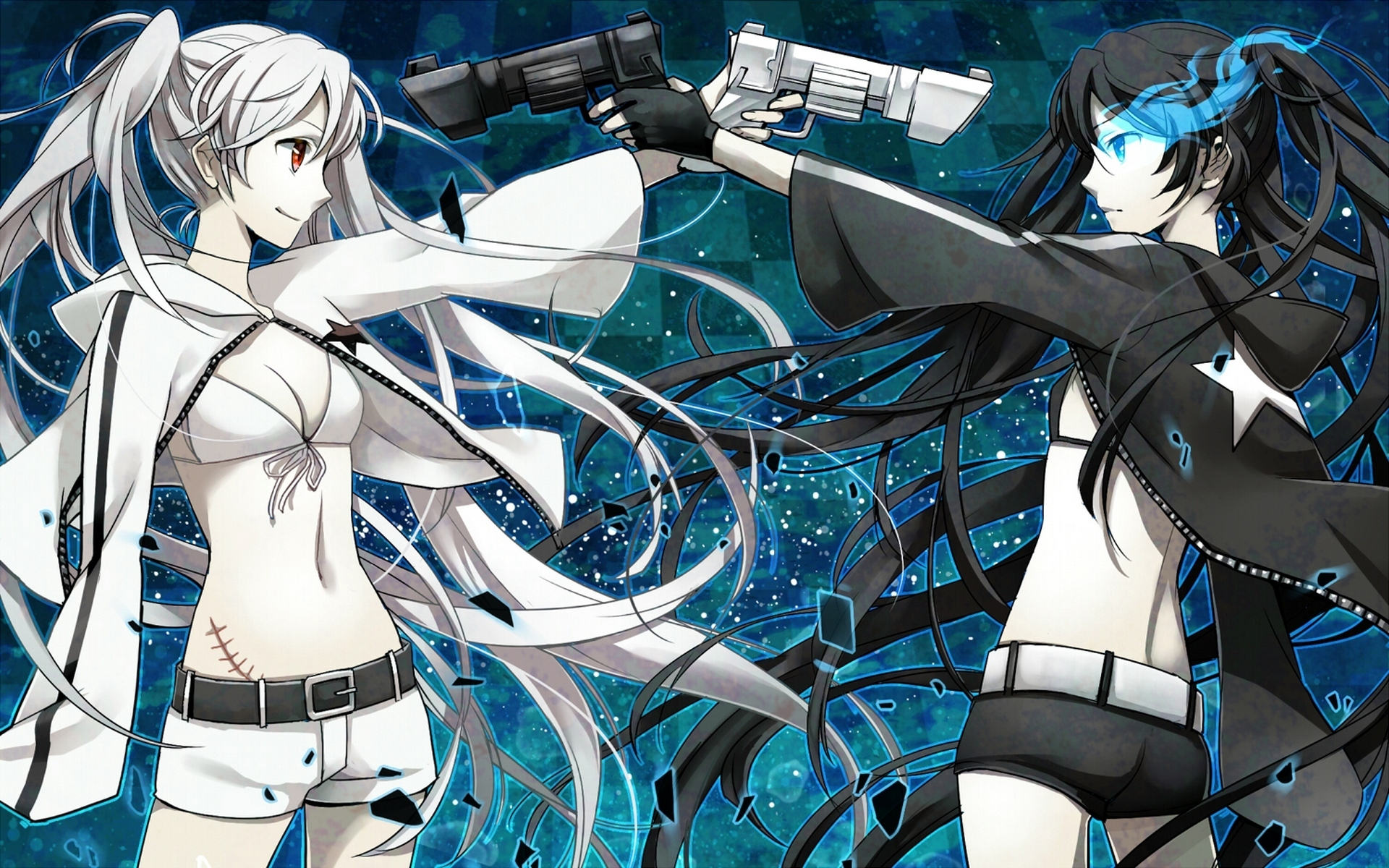 Black Rock Shooter Hd Wallpapers High Quality All Hd Wallpapers