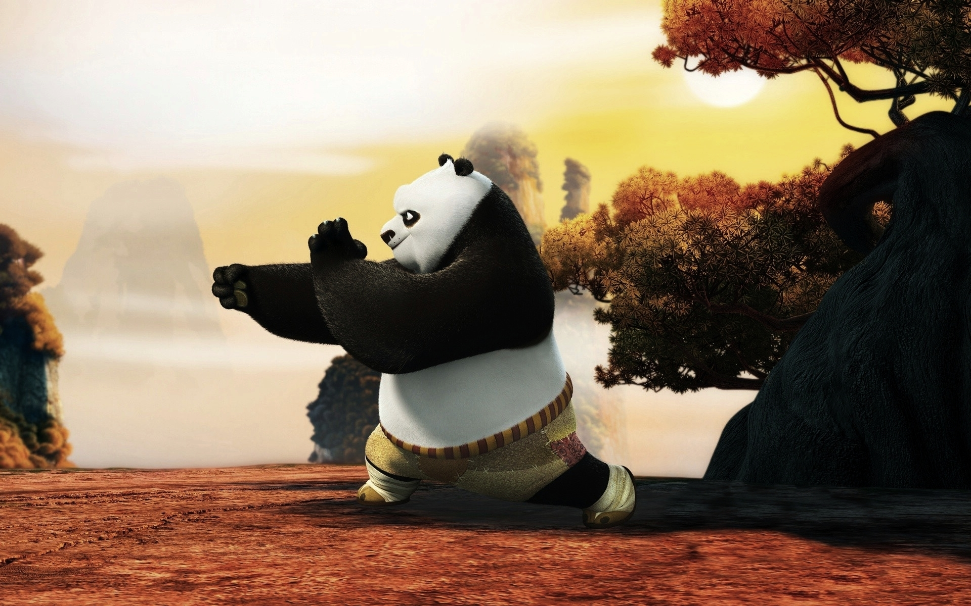 Kung Fu Panda Movie Best Quality Wallpapers - All Hd -9682