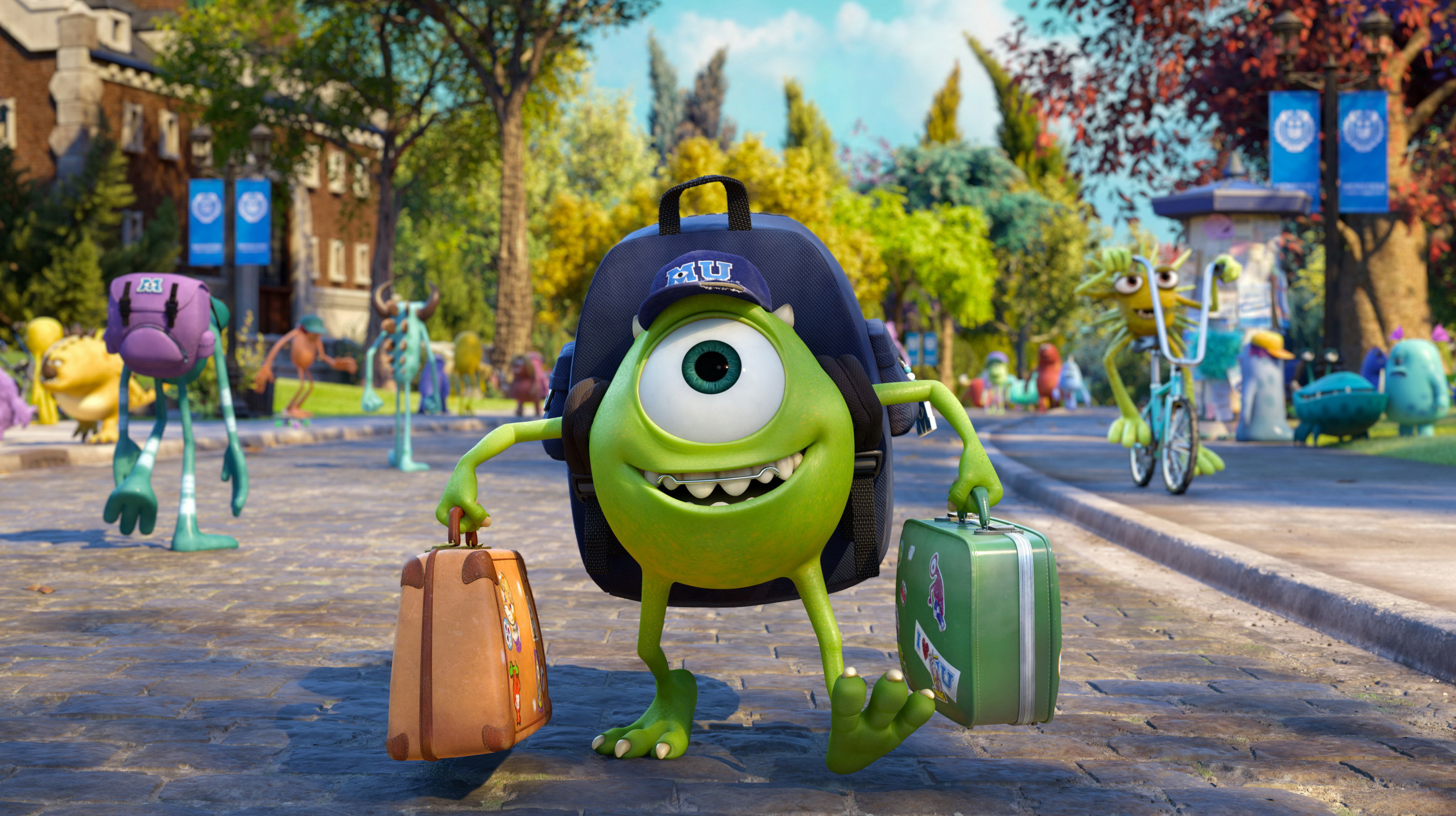 Monsters University Beautiful Hd Wallpapers All Hd Wallpapers