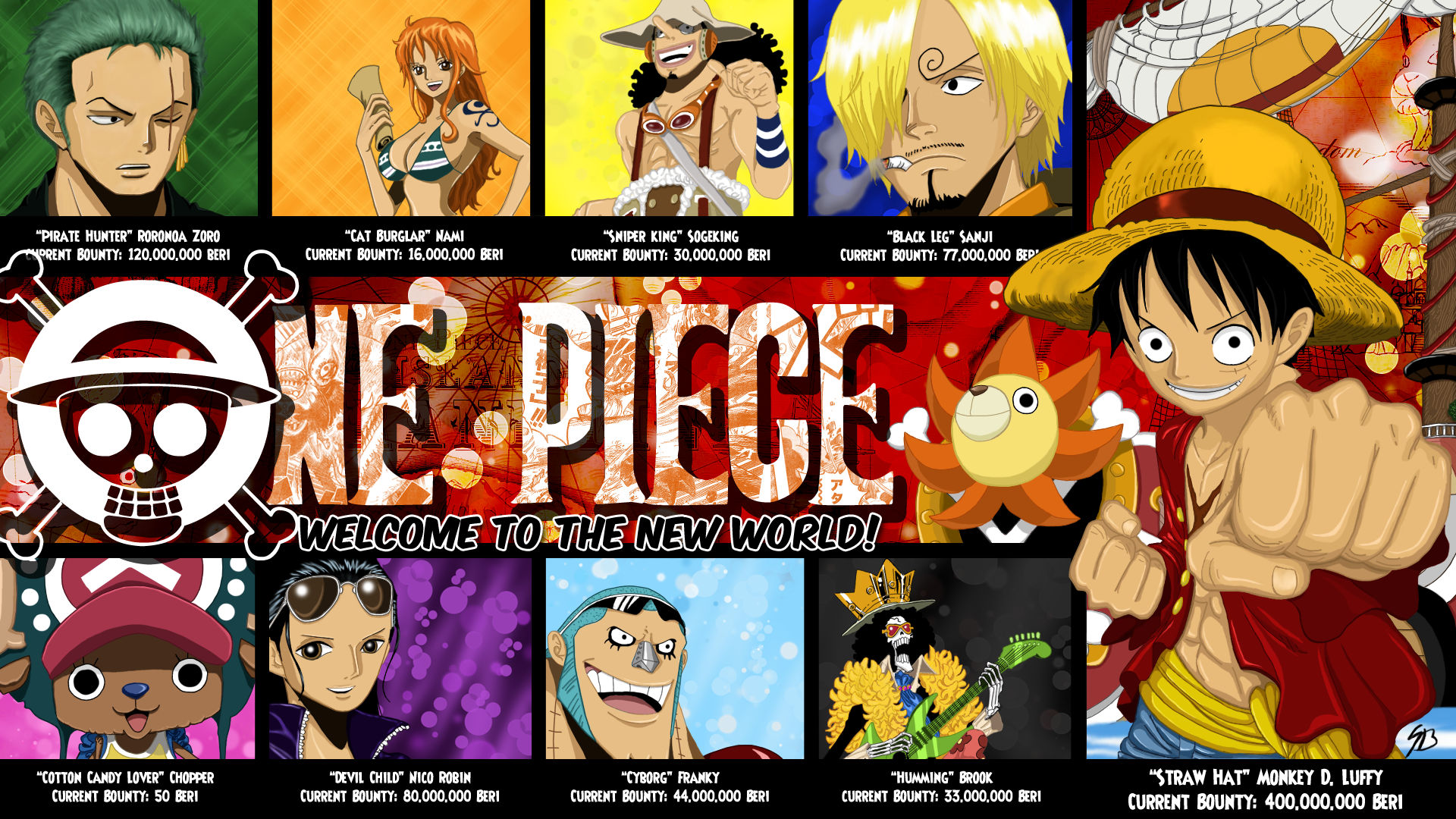 One Piece New Amazing Hd Wallpapers All Hd Wallpapers