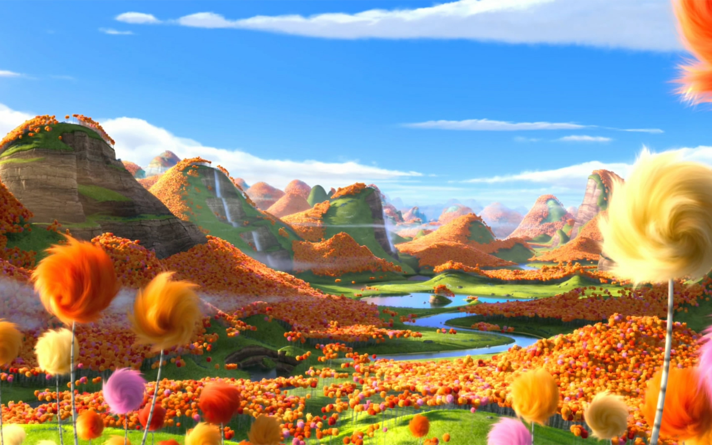 The Lorax Animated Amazing Hd Wallpapers All Hd Wallpapers