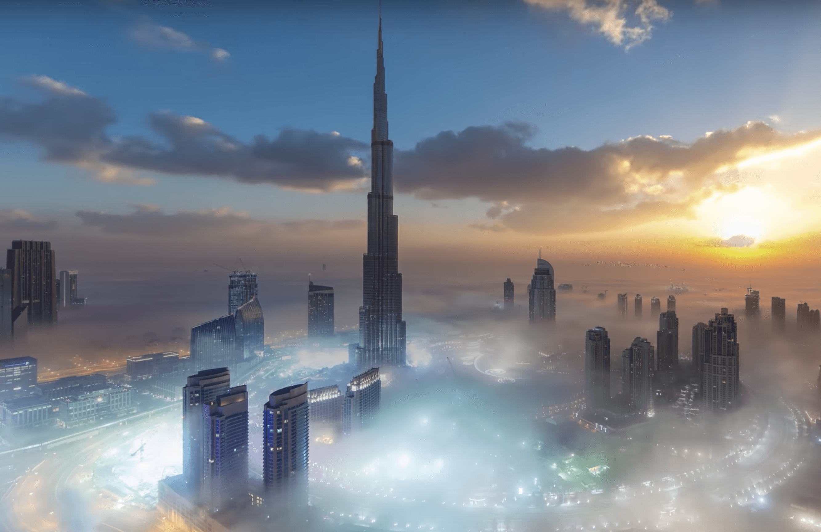 Burj Khalifa 4k desktop background