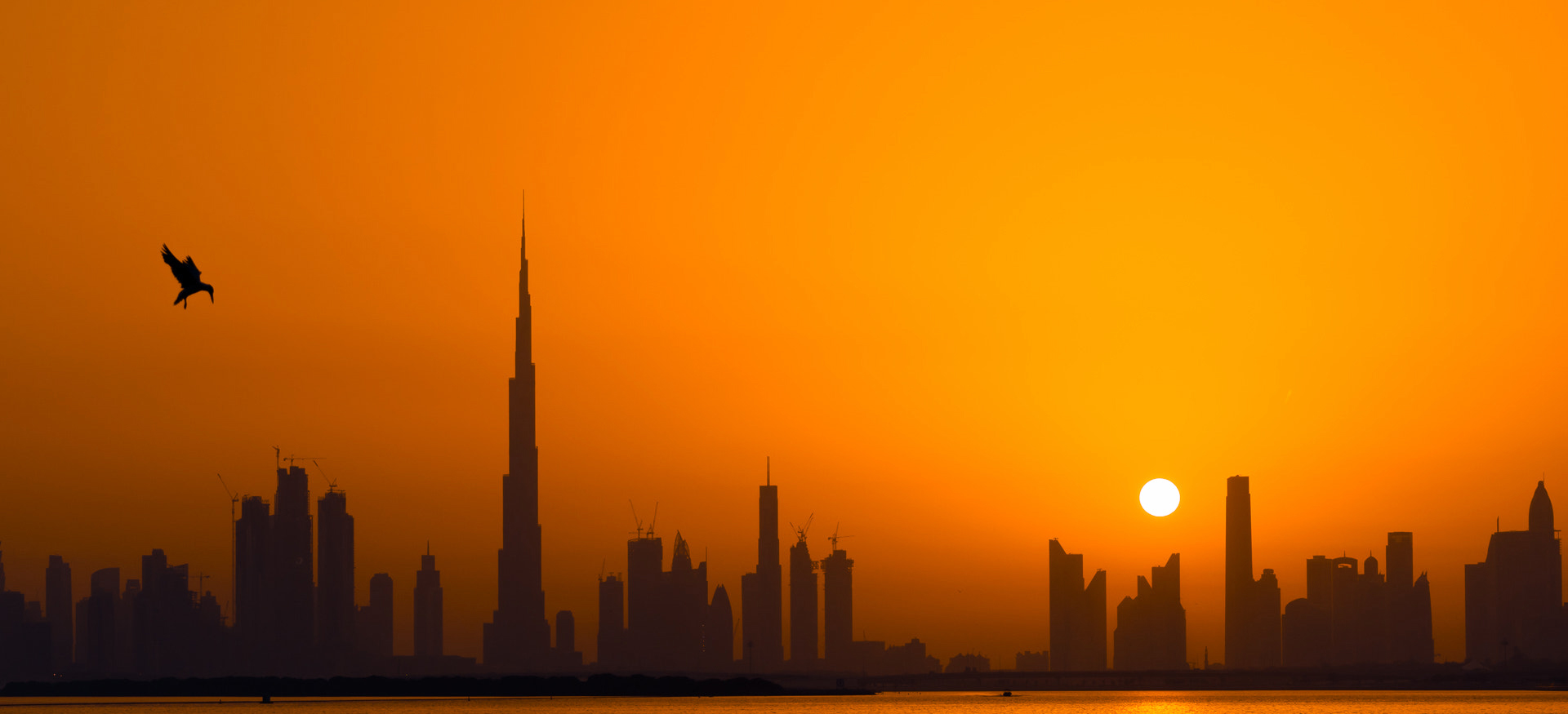 Burj Khalifa sunset Wallpaper