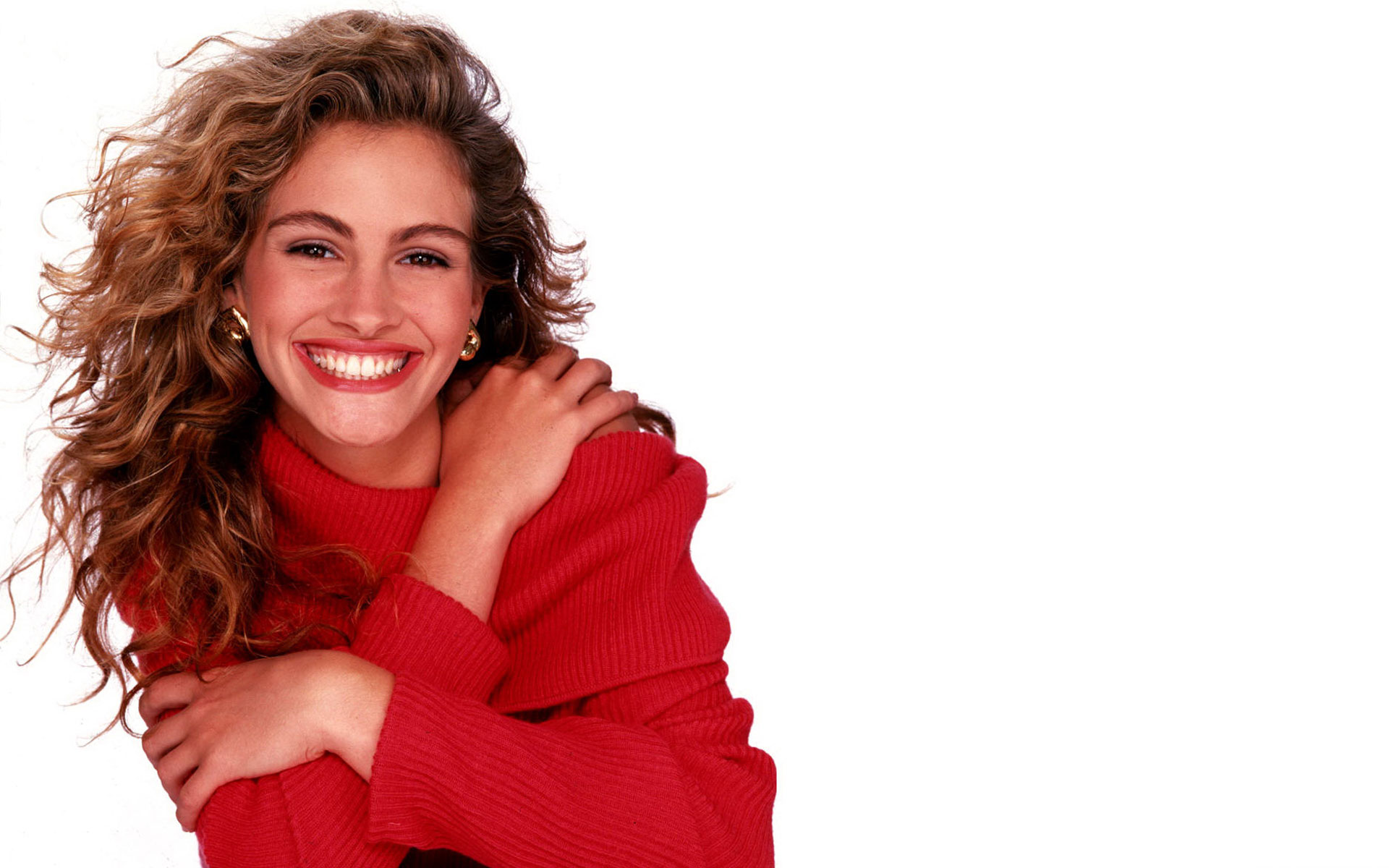 Julia Roberts visits Live With Regis and Kelly at ABCs