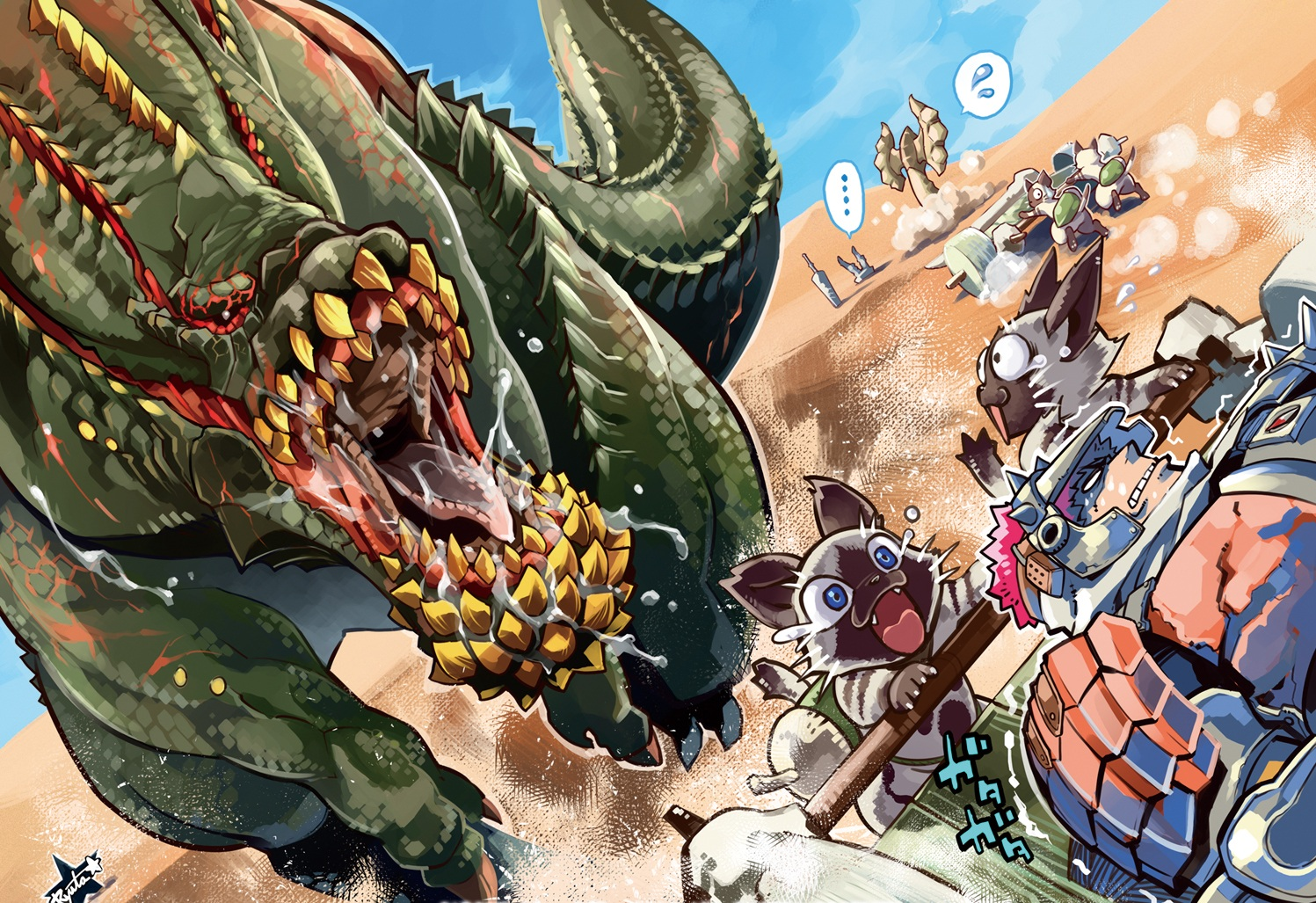 Monster Hunter New Best Quality Wallpapers - All Hd Wallpapers-9271