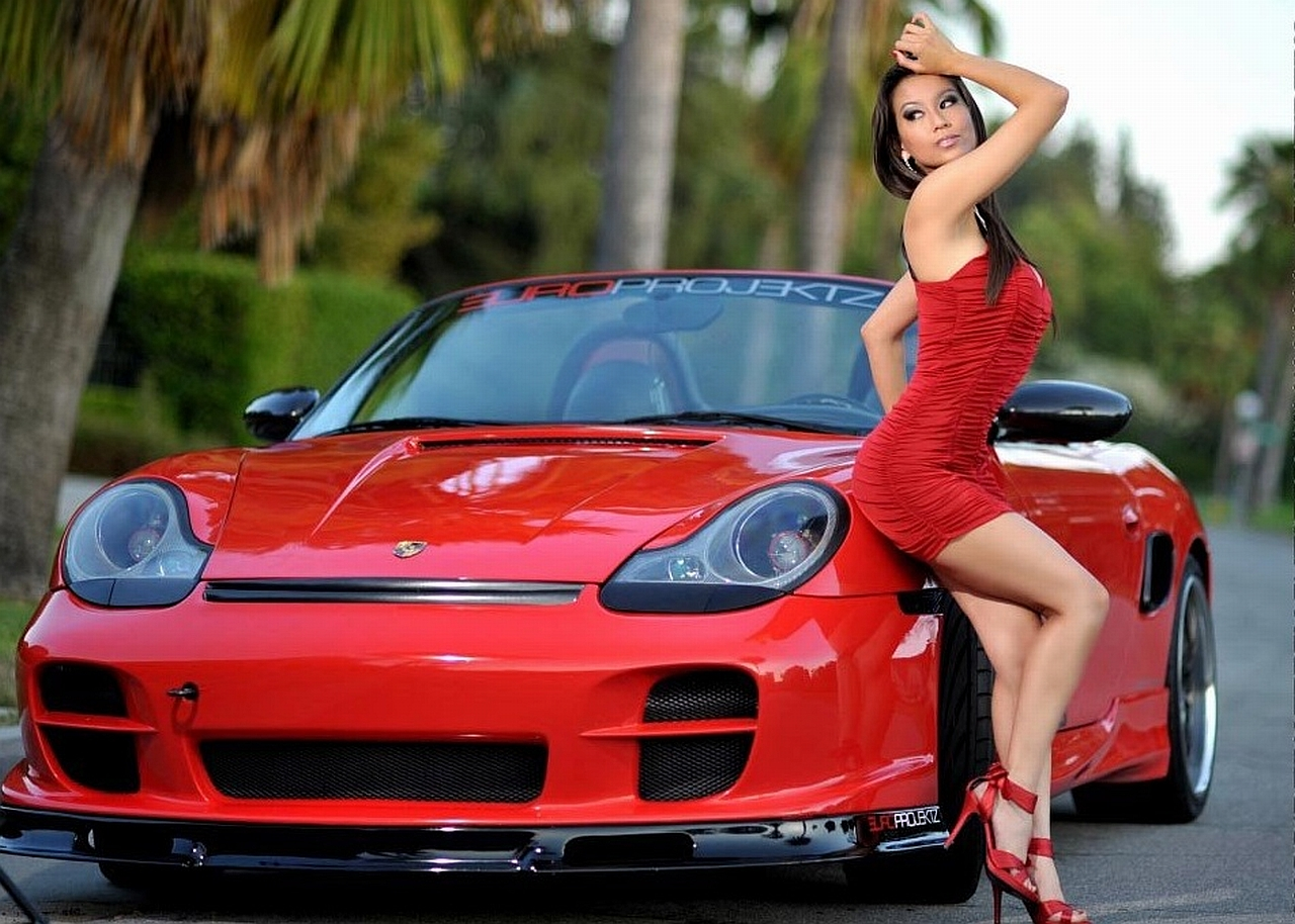 Sexy Girls And Stunning Cars Hd Wallpapers - All Hd Wallpapers-2101