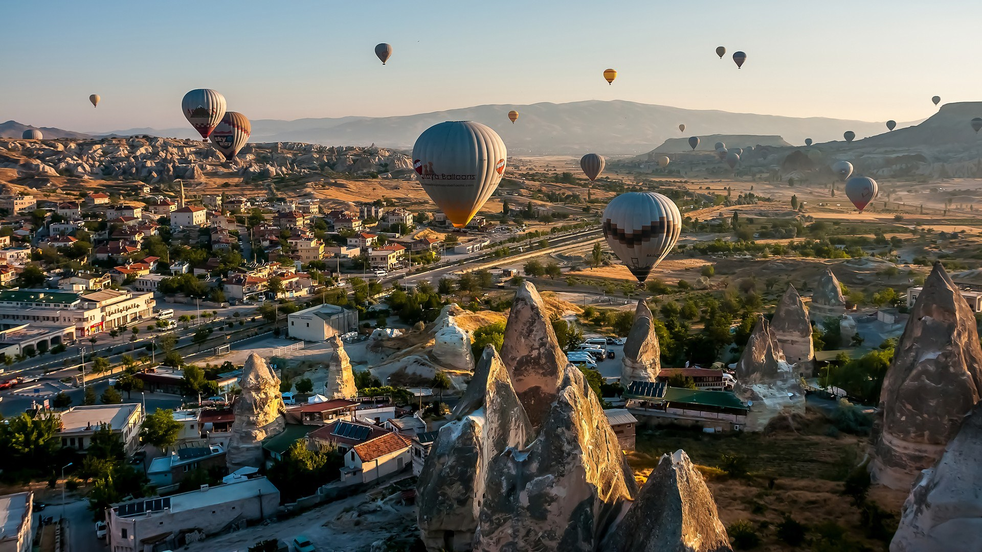 Awesome Hot Air Balloon High Definition Wallpapers - All -5534
