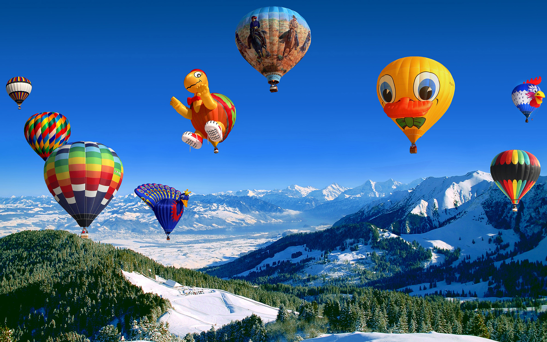 Awesome Hot Air Balloon High Definition Wallpapers All Hd Wallpapers