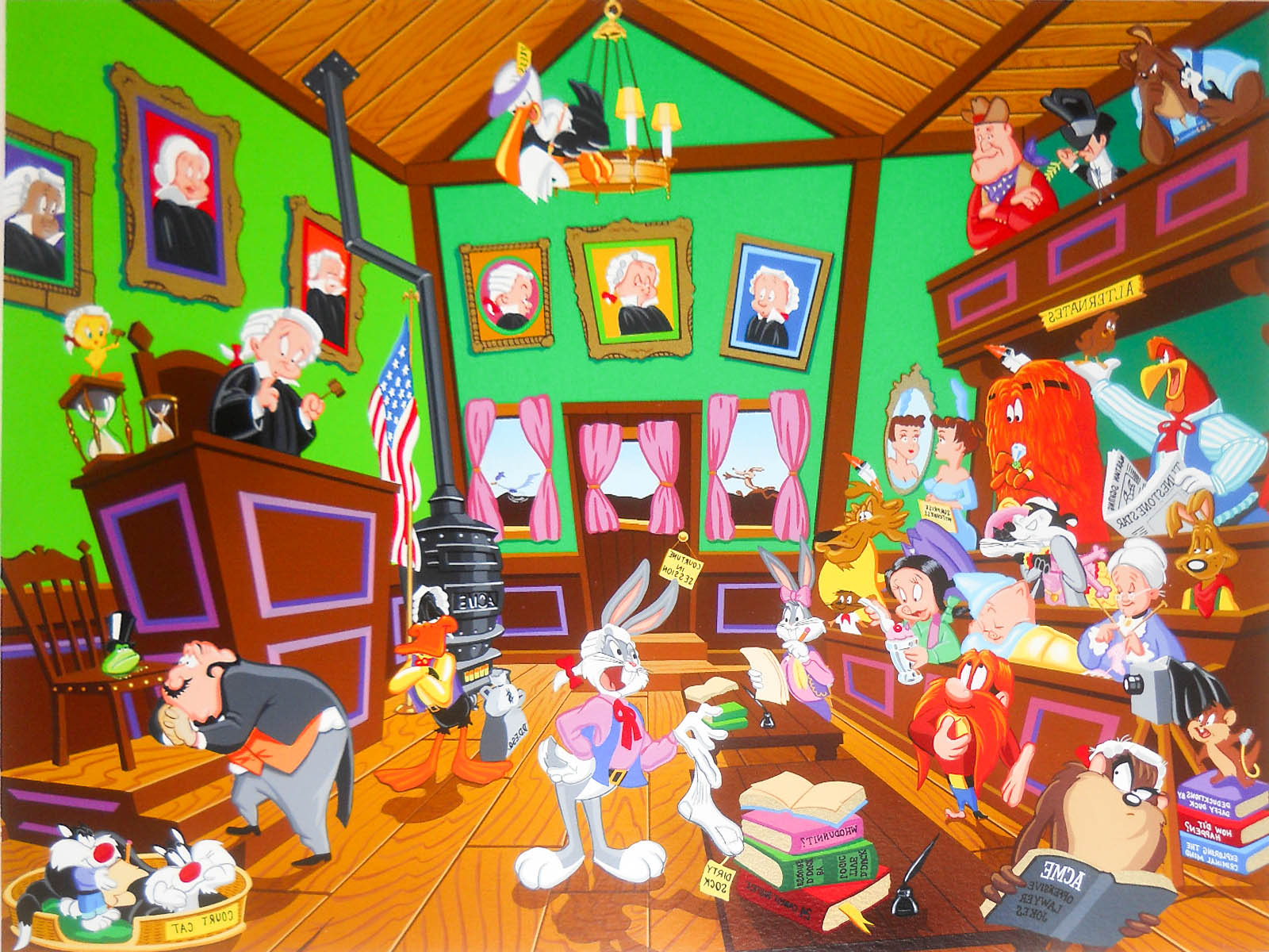 Looney Tunes Awesome HD Backgrounds (Cartoon) - All HD ...