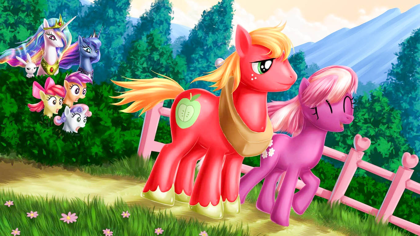My Little Pony Friendship Is Magic HD Wallpapers - All HD ...