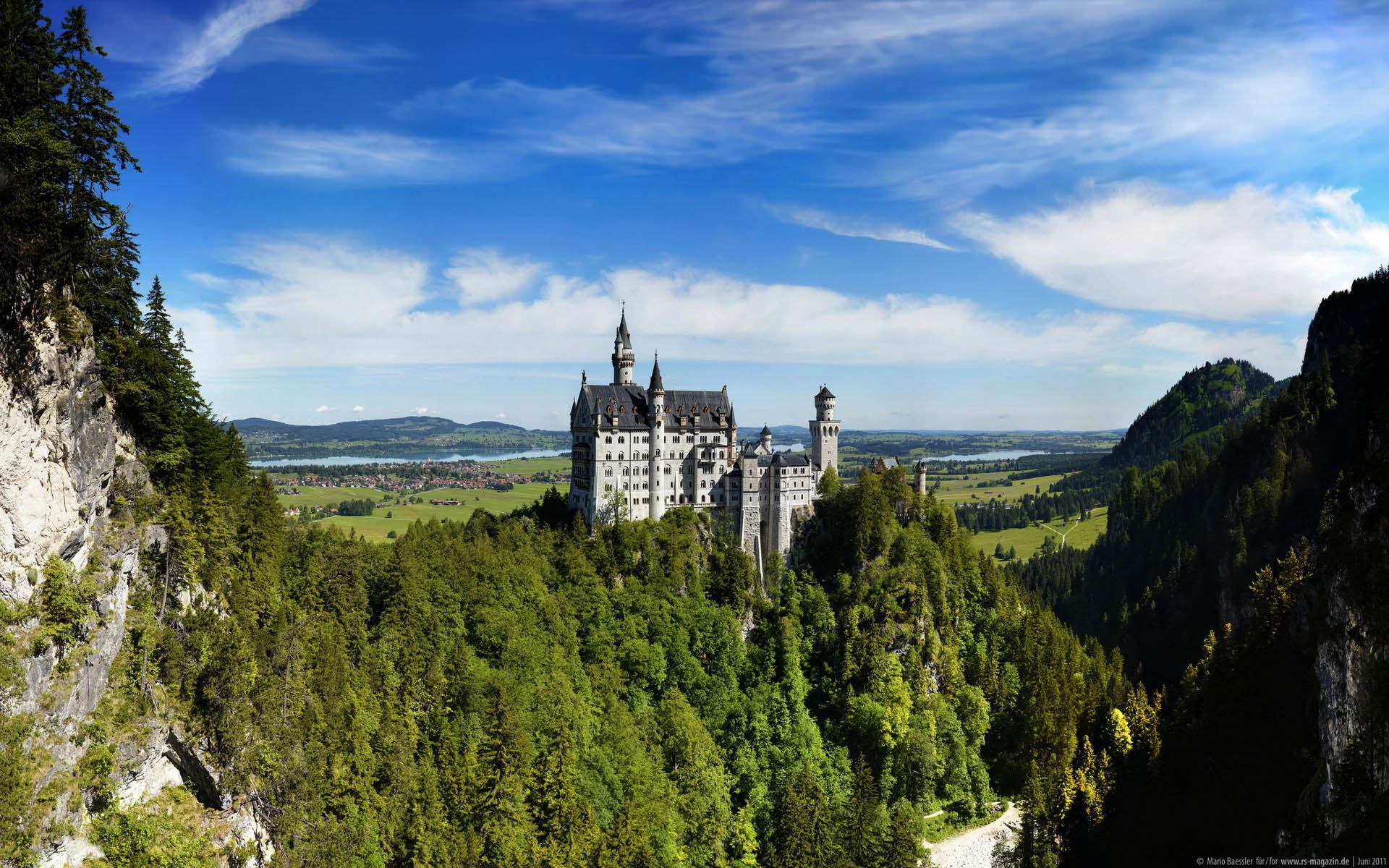 Neuschwanstein Castle Beautifull HD Wallpapers