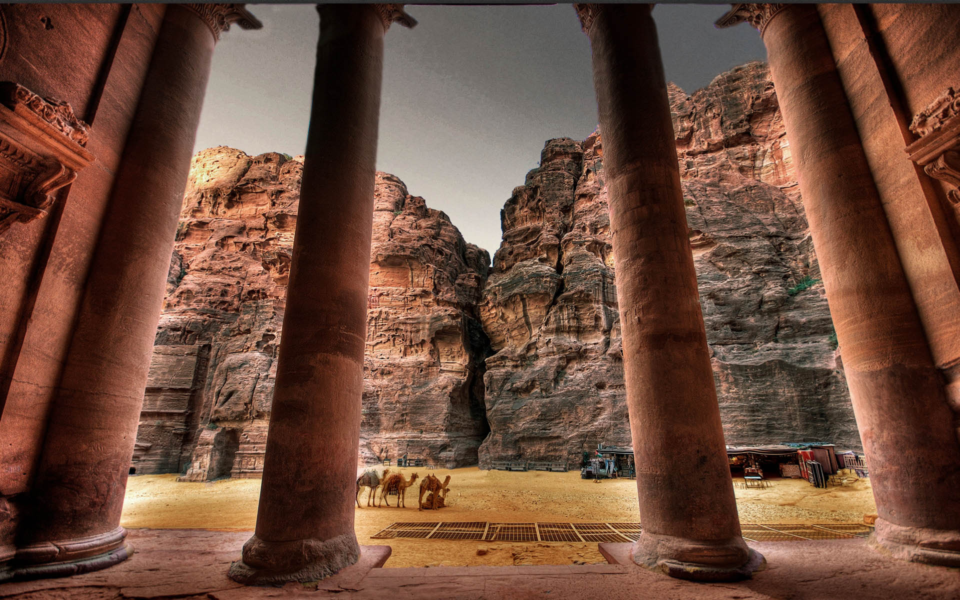 Petra (Jordan) High Quality Wallpapers Desktop Background