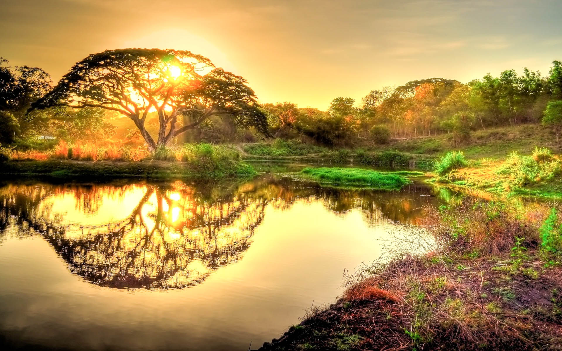 Hd Wallpapers Beautiful Wallpapers: Beautiful Sunrise Wallpapers 2015 (High Definition)