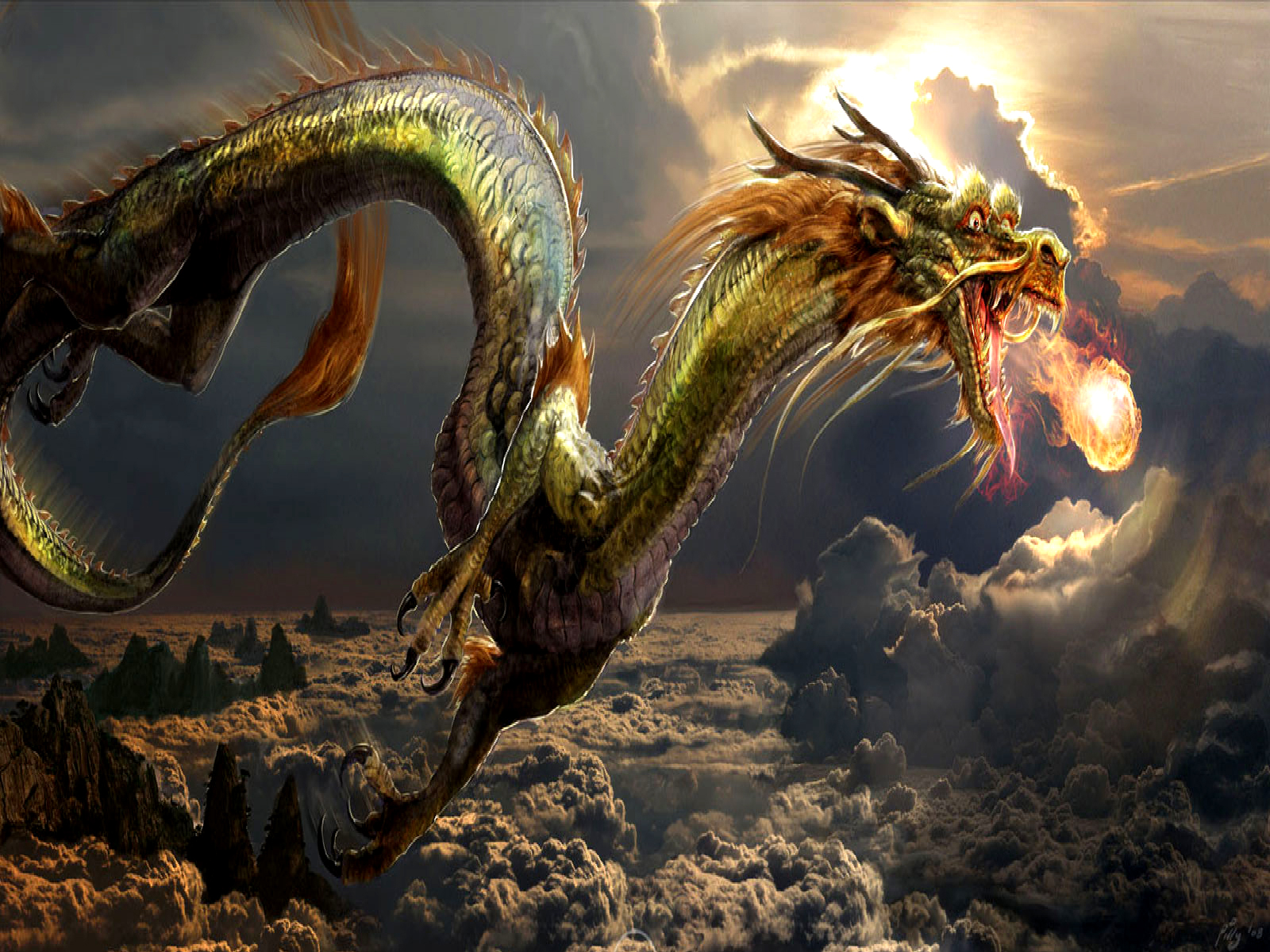 Dragon Hd Wallpapers Desktop Backgrounds High Quality All Hd