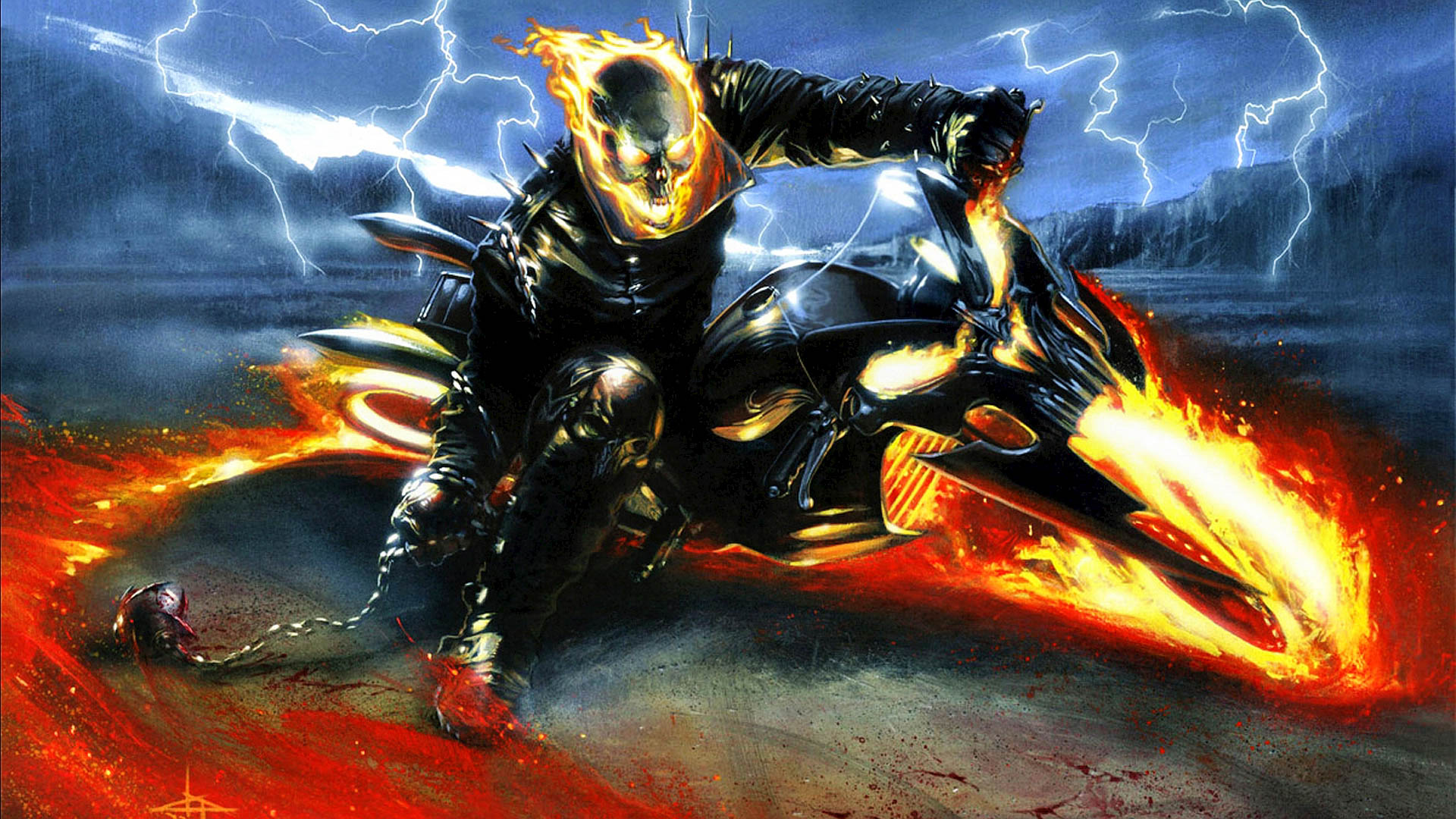 Ghost rider amazing wallpaers hd pictures all hd wallpapers - Ghost wallpapers for desktop hd ...