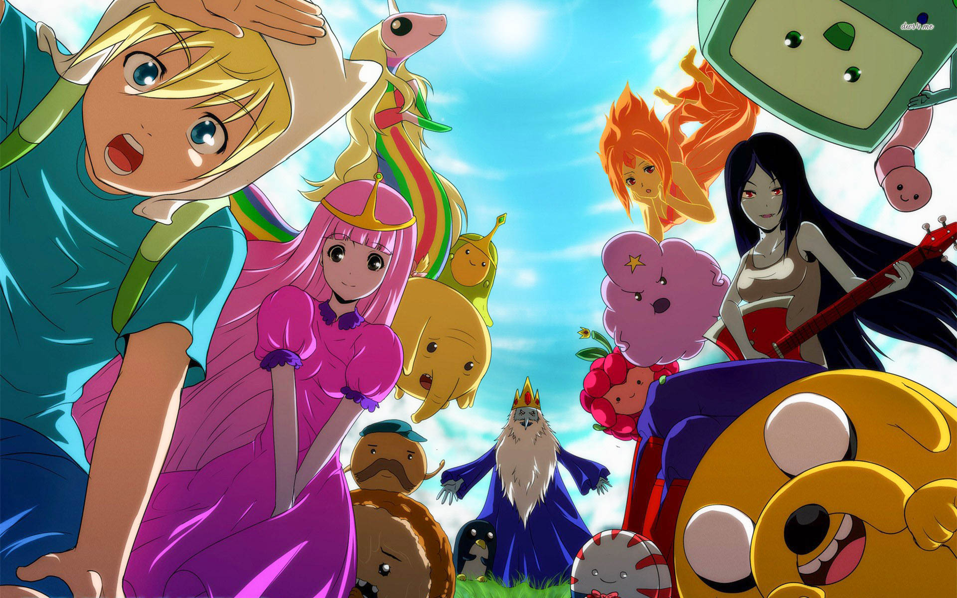 Adventure Time Tv Show Beautiful Wallpapers In High