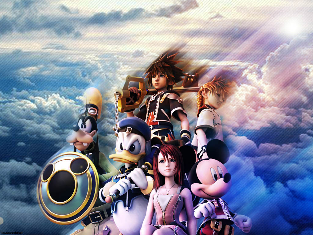 Kingdom Hearts Video Game New Wallpapers, Backgrounds ...