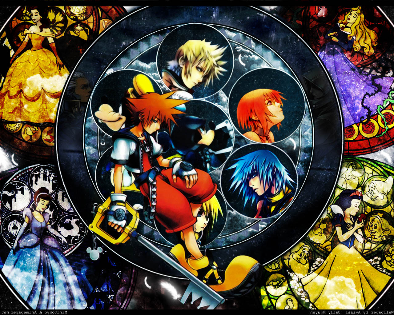 See how the HD Remix of Kingdom Hearts 2 compares to