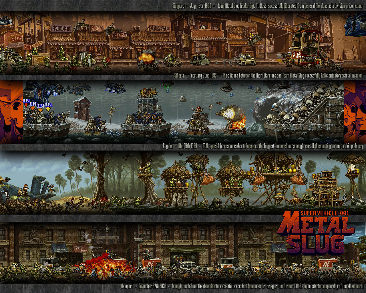 Video Game Metal Slug HD Wallpapers In High Definition