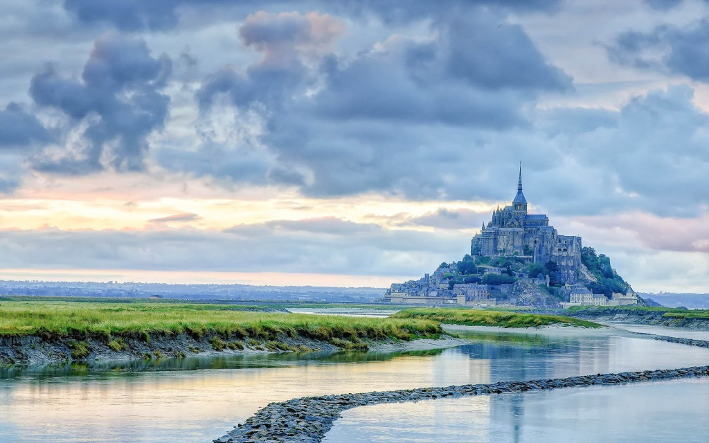Mont Saint-Michel Beautiful HD Wallpapers, Images In High