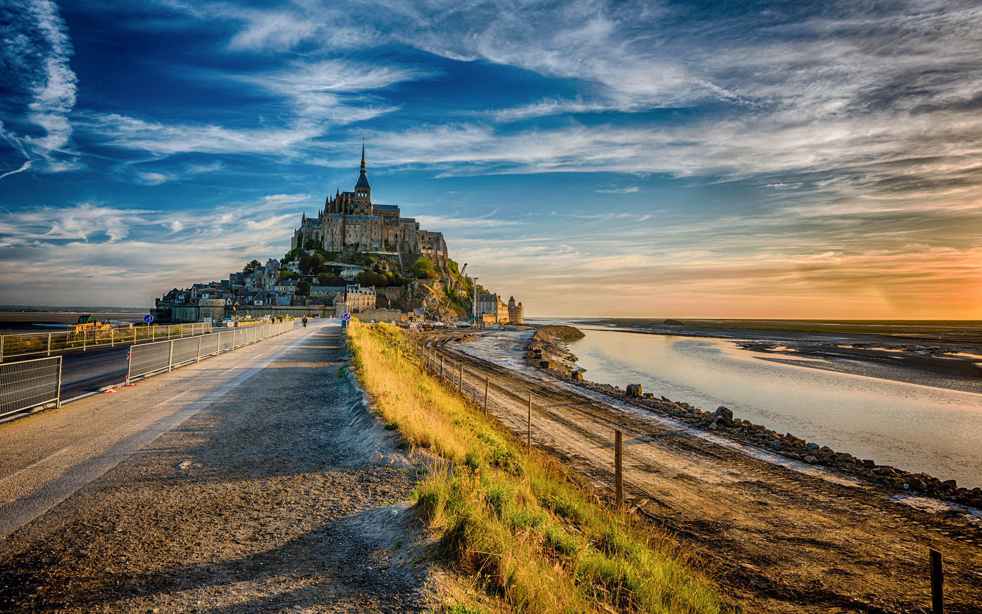 Hd Wallpapers Beautiful Wallpapers: Mont Saint-Michel Beautiful HD Wallpapers, Images In High